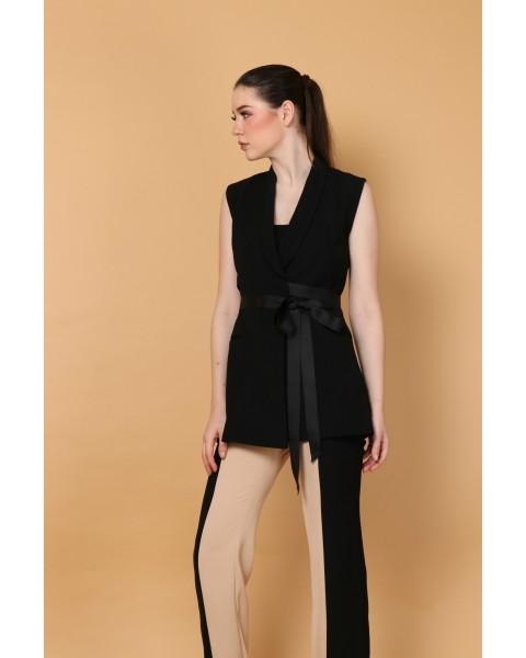 Etoile Vest in Black