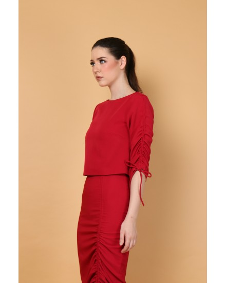 Cora Top in Red