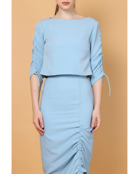 Cora Top in Blue