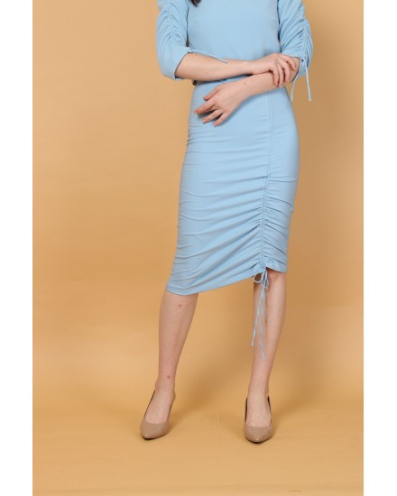Cora Skirt in Blue