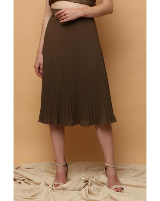 Gilda Pleated Skirt