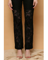 Cava Lace Pants in Black