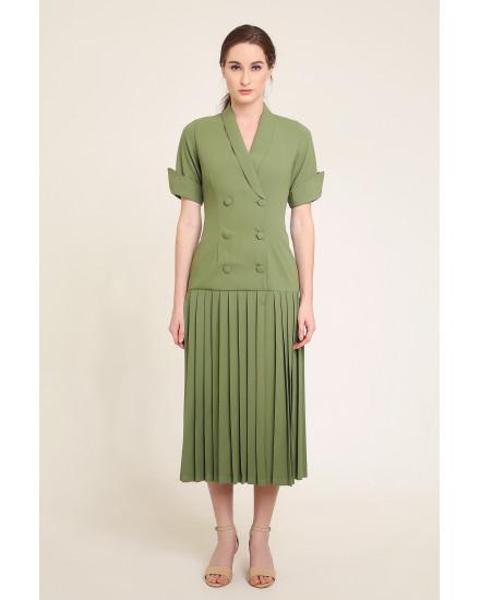 Marley Dress in Green