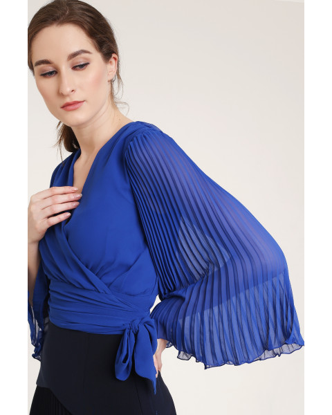 Quaint Top in Royal Blue