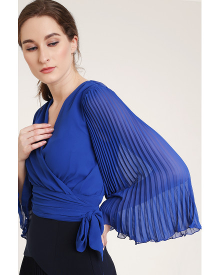 Quaint Top in Royal Blue