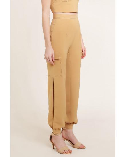 Reba Pants in Beige