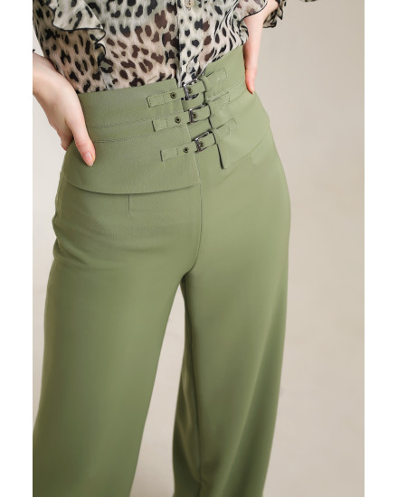 Riley Pants in Green