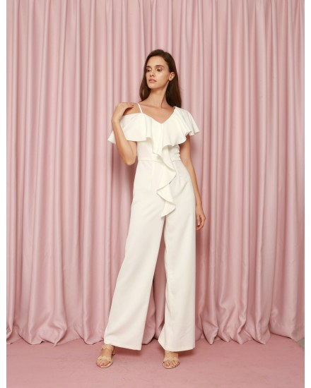 Epiphany Jumpsuit in White