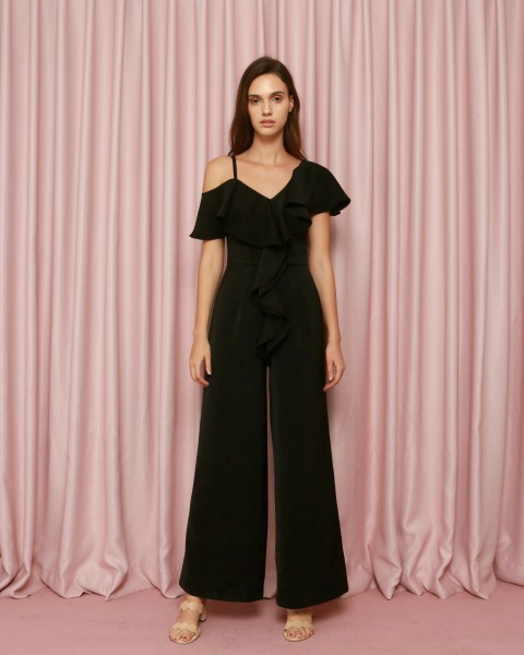 Epiphany Jumpsuit in Black