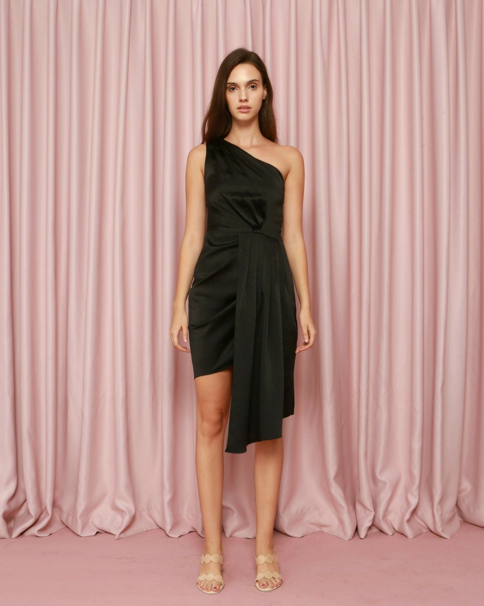 Armor Dress In Black Cdc The Label