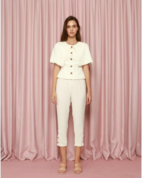 Elysian Pants in White