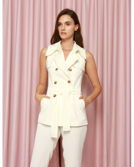 Yucca Trench in White