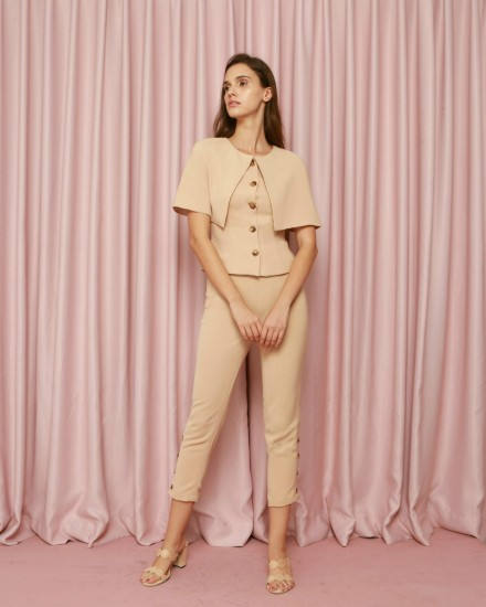 Elysian Pants in Beige