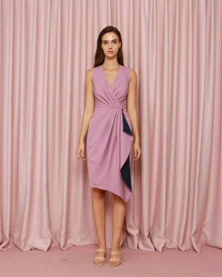 Calvary Dress in Lavender