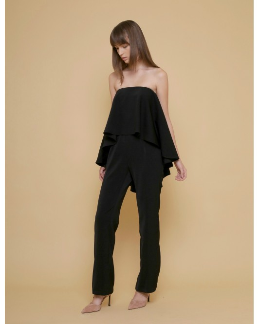 The Grace Jumpsuit in Black