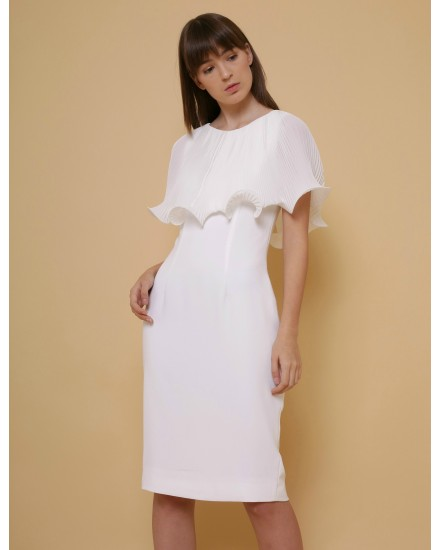 Lotus Cape Dress